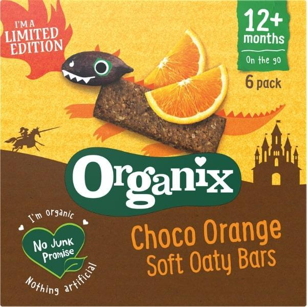 Win Organix Choco Orange Bars